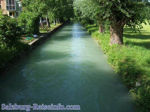 Almkanal in Salzburg