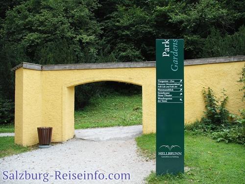 Aufgang Monatsschlössl Hellbrunn