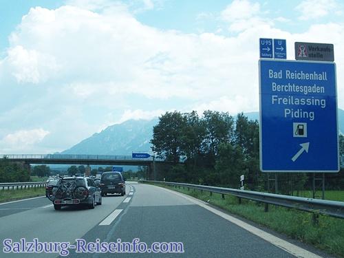 Ohne Vignette nach Salzburg