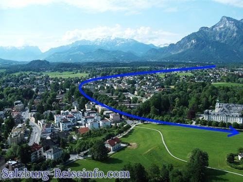 Berchtesgaden nach Salzburg