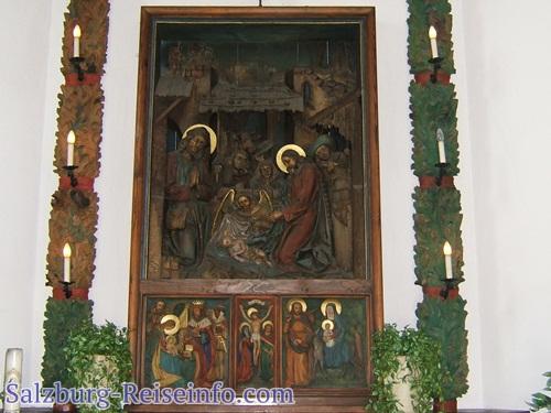 Altarbild Krippenszene