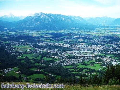 Ausblick Salzburg Gaisberg