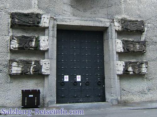 Bühnentor kleines Festpielhaus in Salzburg, Toscanini Trakt