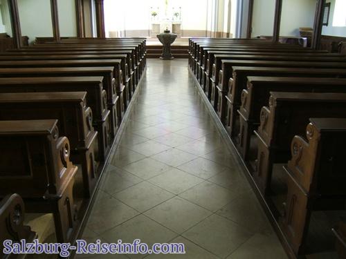 Kirchensaal Evangelische Kirche