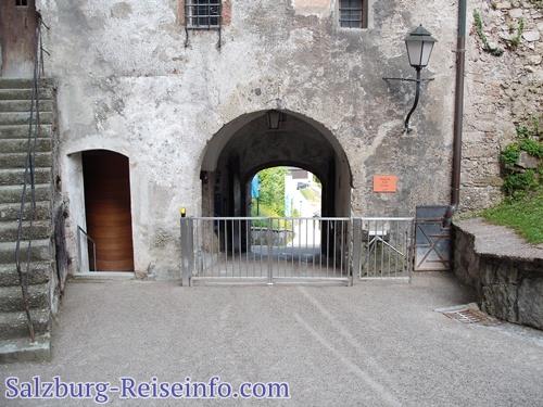 Eingang Burg Salzburg