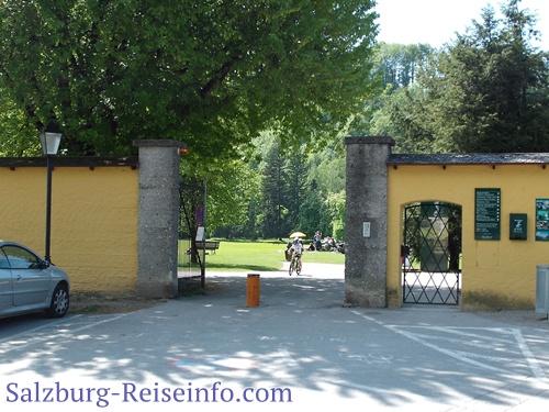 Eingang Hellbrunn Spielplatz