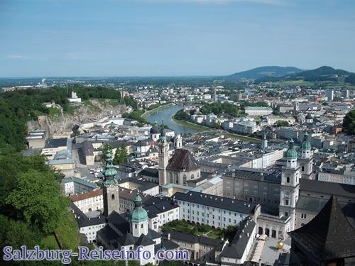 Salzburg von der Festung Hohensalzburg