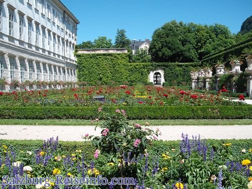 Sehenswürdigkeiten Salzburg Fotos Mirabell