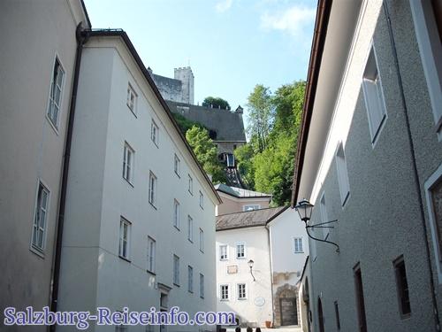 Festung Salzburg Fußweg