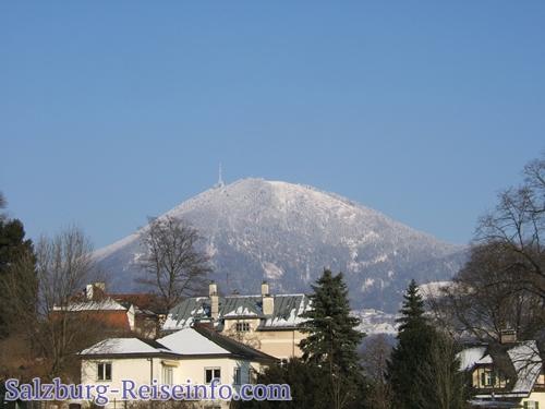Gaisberg im Schnee
