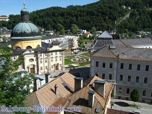 Kaiviertel und Klosterkirche Barmherzige Brüder