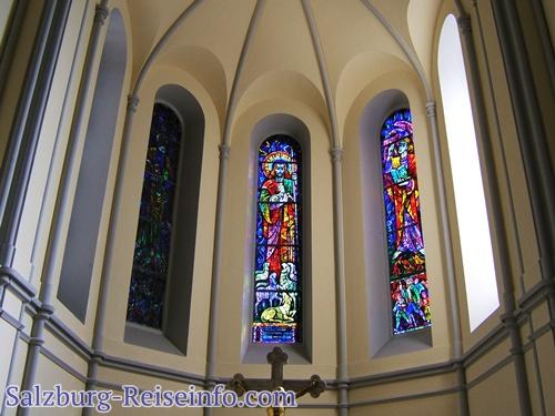 Kirchenfenster Salzburg