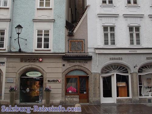 Kleinstes Haus Salzburg