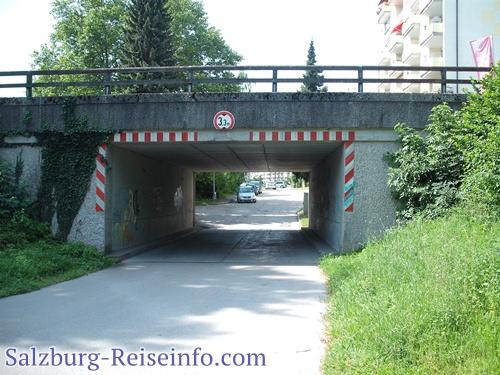 Parken in Freilassing bei Salzburg