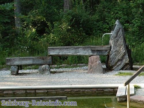 Laufbrunnen für Armbad nach Kneipp