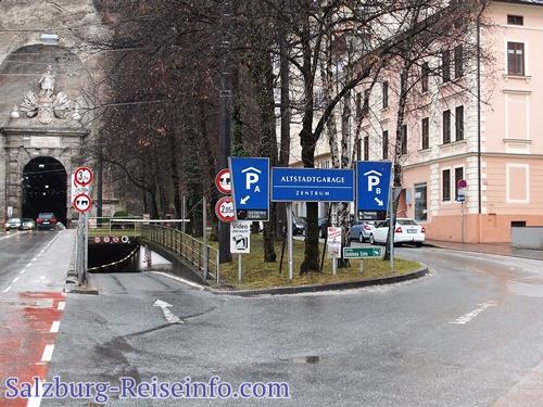 Freie Plätze in der Mönchsberggarage Salzburg