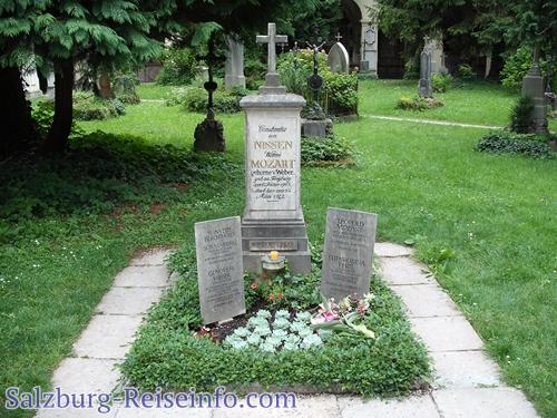 Grab der Familie Mozart Salzburg, Österreich