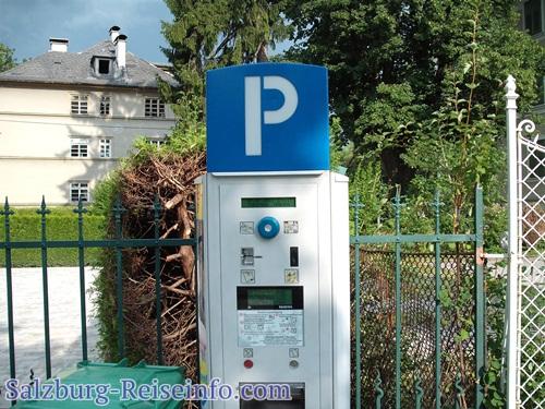 Parkscheinautomat Salzburg Zentrum
