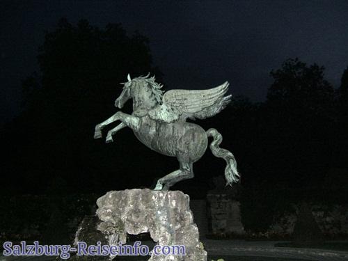 Pegasus im Garten von Schloss Mirabell