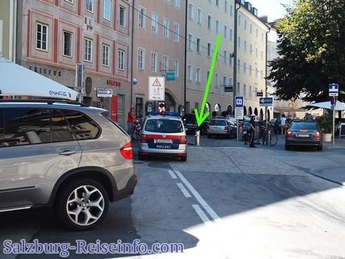 Pollerunfall Salzburg Altstadt