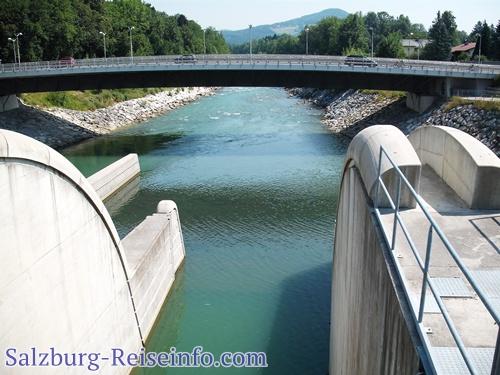 Saalachbrücke Freilassing Grenzübergang