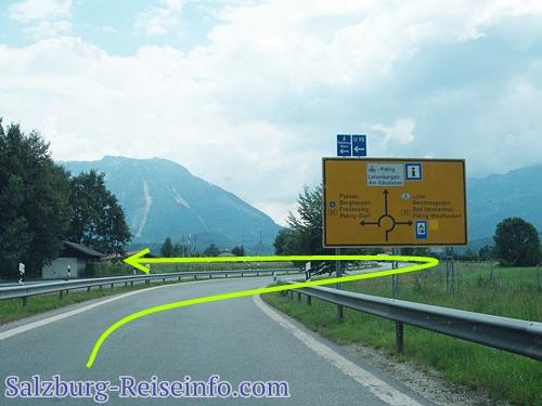 Ohne Maut nach Salzburg