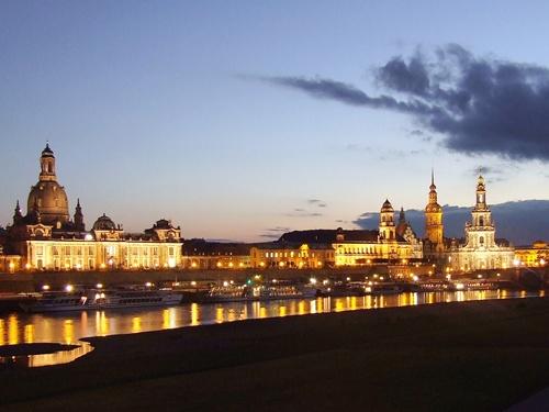 Salzburger Partnerstadt Dresden