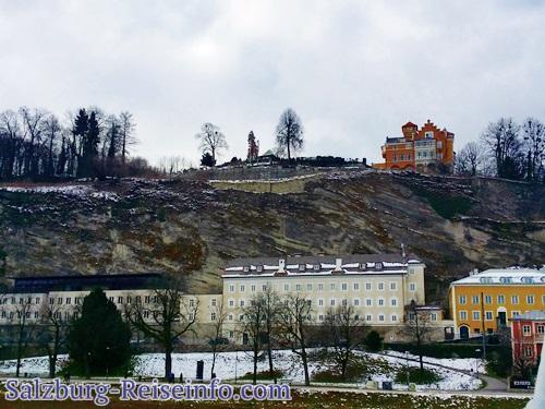Schloss Hotel Mönchsberg, Mönchstein im Winter