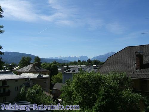 Blick Tennengebirge Salzburg Süden