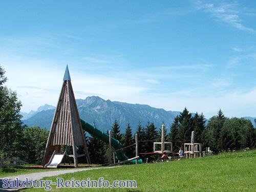Spielplatz am Gaisberg bei Alm