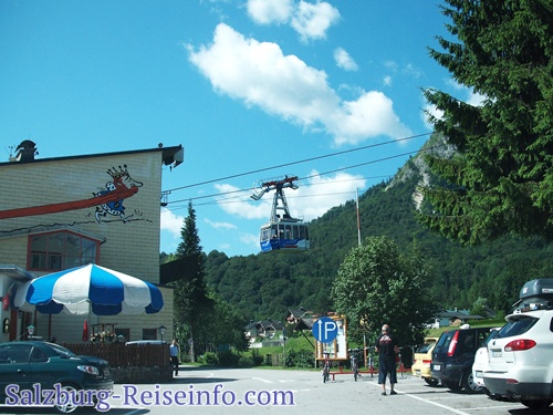 Talstation Untersberg Seilbahn