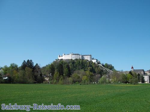 Spazieren in Salzburg