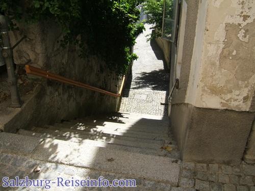 Enge Stufen Salzburger Altstadt