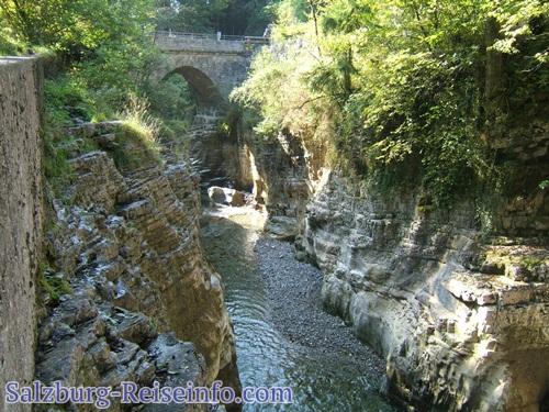 Römerbrücke Tauglklamm Kuchl