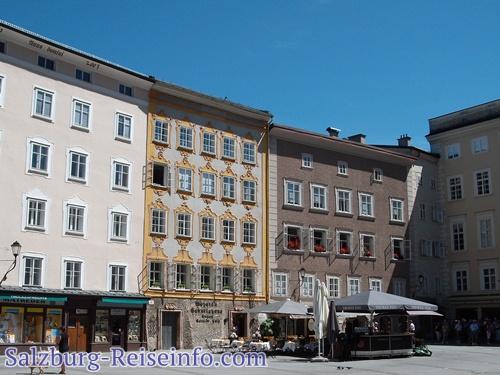 Mozart Geburtshaus Rückseite