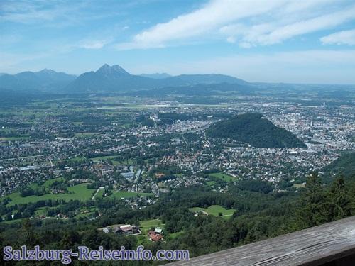 Herrliches Panorma Stadt Salzburg