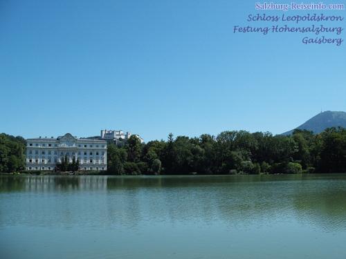 Leopoldskron Bildschirmhintergrund Salzburg
