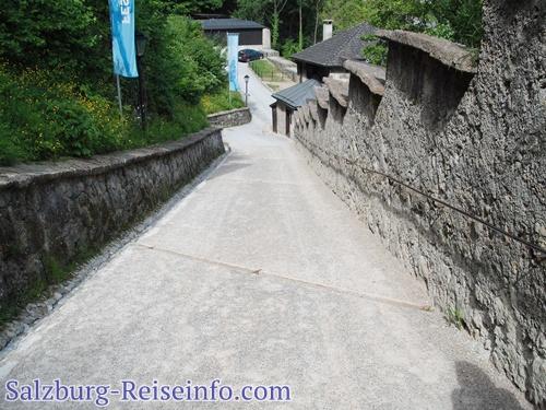 Aufgang Festung Salzburg