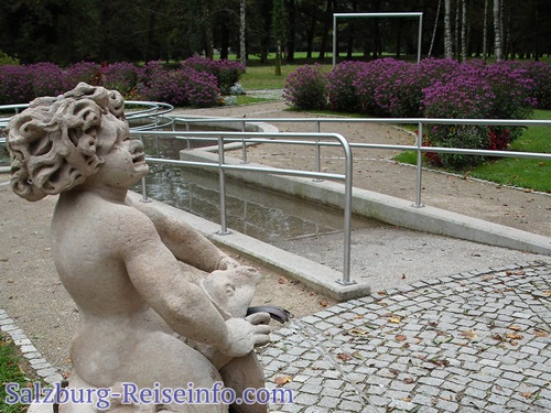 Wunderschönes Erholungsambiente im Schloßpark Salzburg