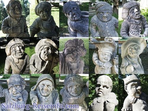 Alle Zwerge des Salzburger Zwergengartens